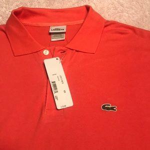 Men's Lacoste Polo Shirt Size 8 Caiman NWT